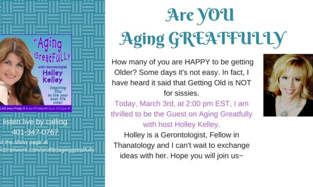 The Good Radio Founder Frankie Picasso Guests on The Holley Kelly Show, Aging Greatfully