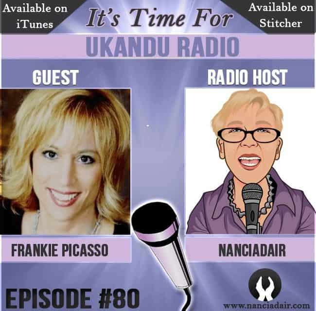 Frankie Picasso guests on UKANDU Radio with host Nanci Adair