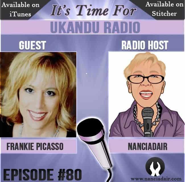 Frankie Picasso guests on UKANDU Radio with host Nanci Adair