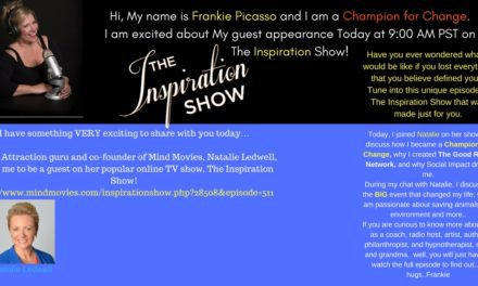 Look Who's on THE INSPIRATION SHOW Today!!!