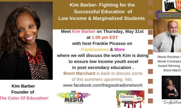 Kim Barber, Education Activist founder of The Color of Education