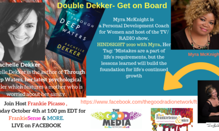 Going on a Double Dekker Ride with Rachelle Dekker and Myra McKnight