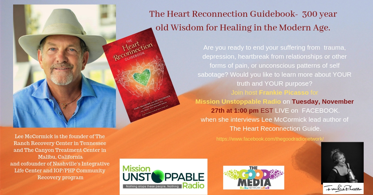 The Heart Reconnection Guidebook- 300 years of collective Wisdom to help Everyone Live their Truth, Purpose and Heal their Heart