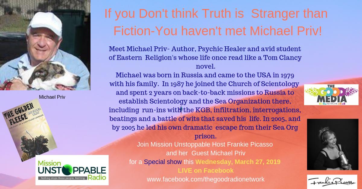 The Stranger Than  Fictional Life of Michael Priv