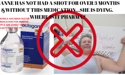 OCTAGAM- WHY HAVE YOU ABANDONED SOUTH AFRICA & Patients who DESPERATELY NEED YOU?