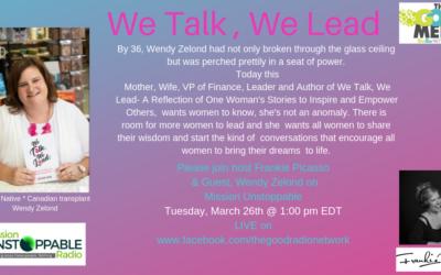Leading like a Women- We Talk, WE Lead