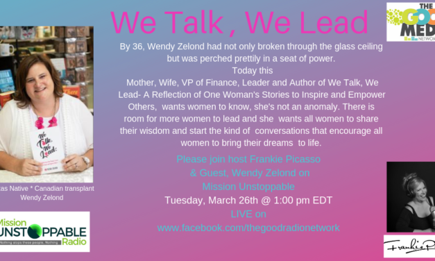 Leading like a Women- We Talk, WE Lead