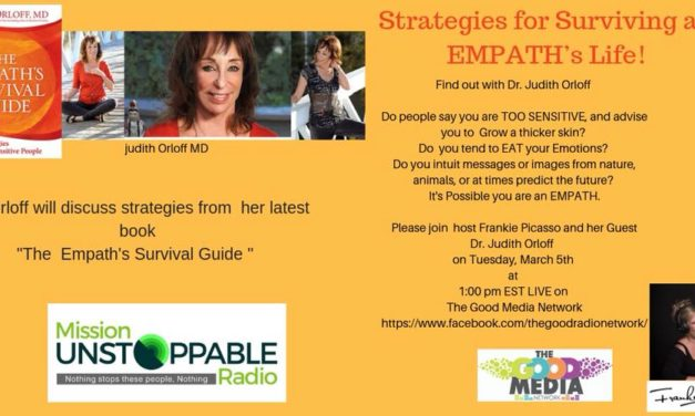 The Empaths Survival Guide with Dr. Judith Orloff