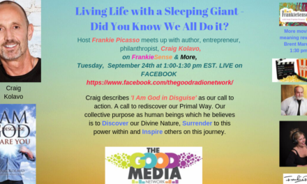 Living Life with A Sleeping Giant- Inside us All!