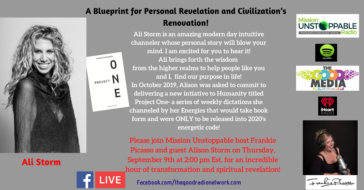 Project One-A Blueprint for Personal Revelation & Civilizations Renovation