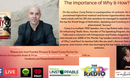The Importance of Why with Corey Poirer