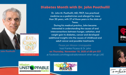 Dr John Poothullil on Diabetes, Cancer and Obesity