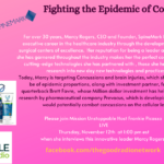 Marcy Rogers- Fighting the Epidemic of Concussions,Guns and all things Spinal
